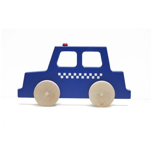 $36 Police Car Wooden Push Toy