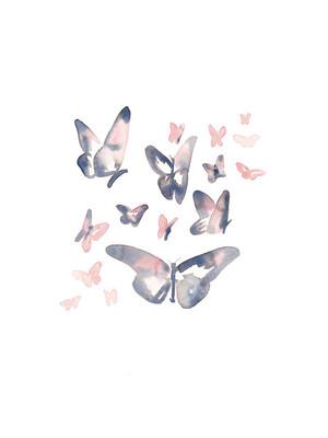 $20+  Papillons Print,Jocelyn Edin