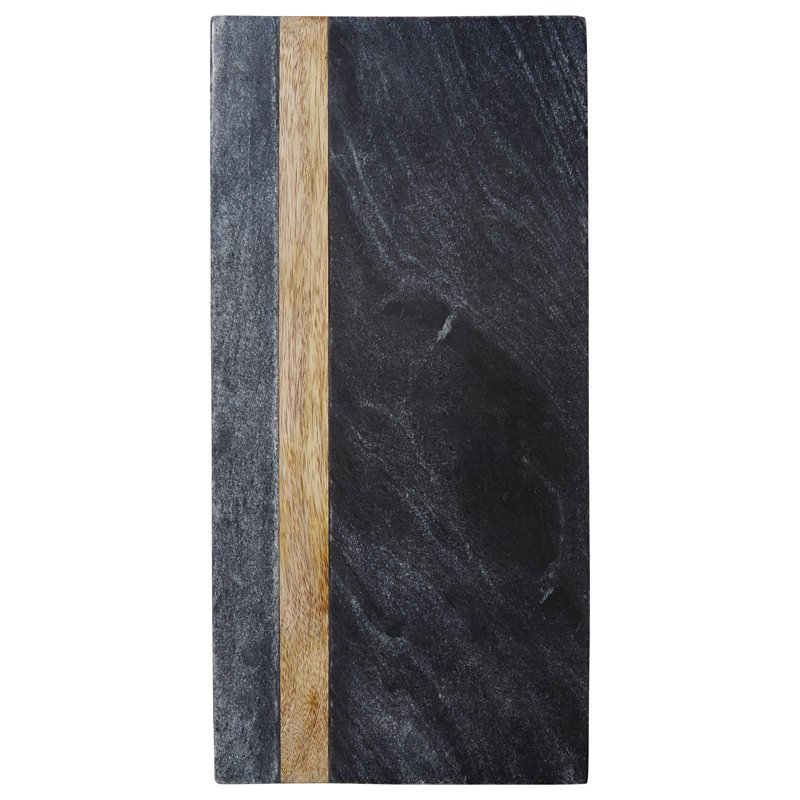 $39.50  Black Marble & Wood Board