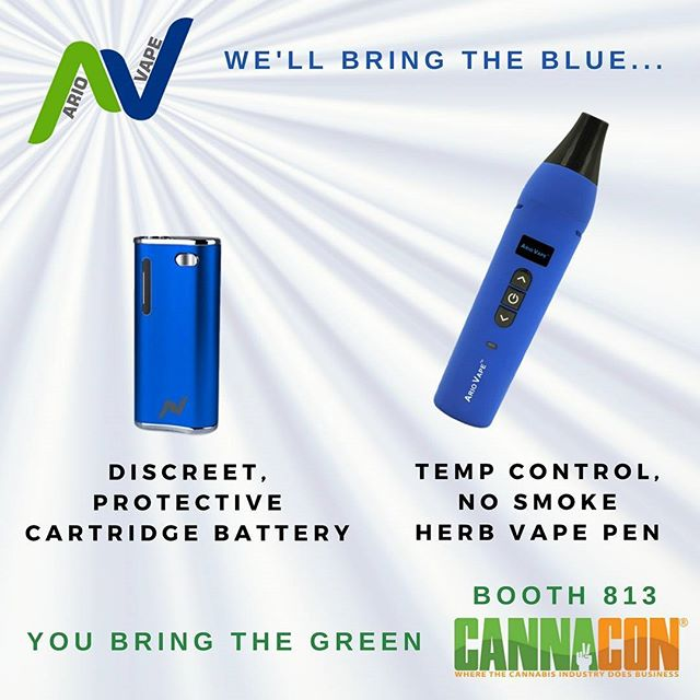 Stop by #cannacon booth 813 this weekend to get the new #contourvape!  It is the most discreet cart battery on the market.  Fits in the palm of your hand!