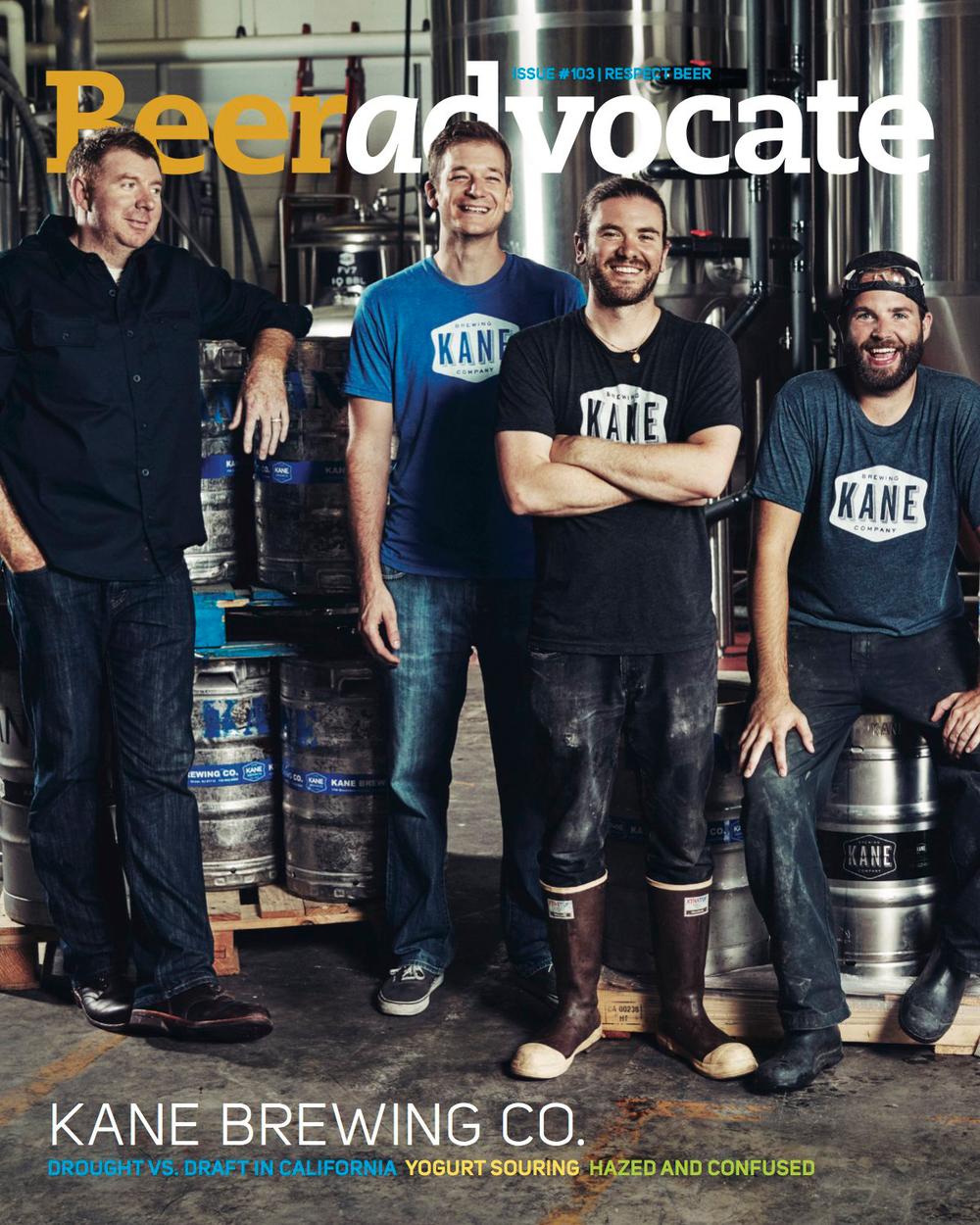 Beer Advocate #103 - Kane Brewing