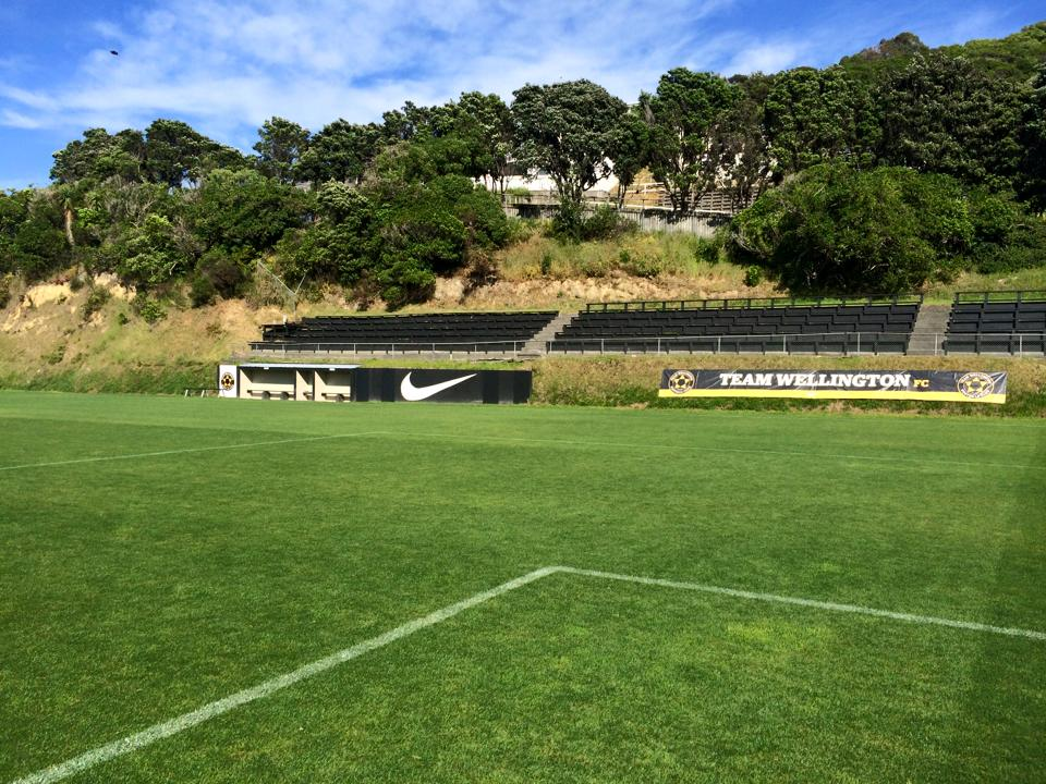 Team Wellington's home ground, Dave Farrington Park, Miramar
