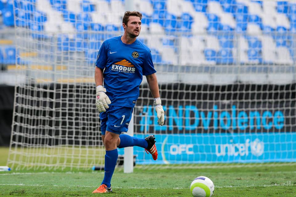 Scott Basalaj, Team Wellington's goalkeeper