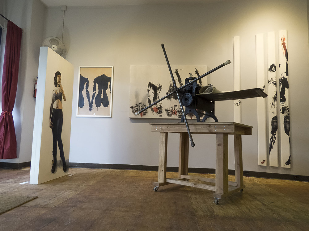 The Model and Her Artist Shoestring Press, Brooklyn Jan. 2015 – Feb. 2015