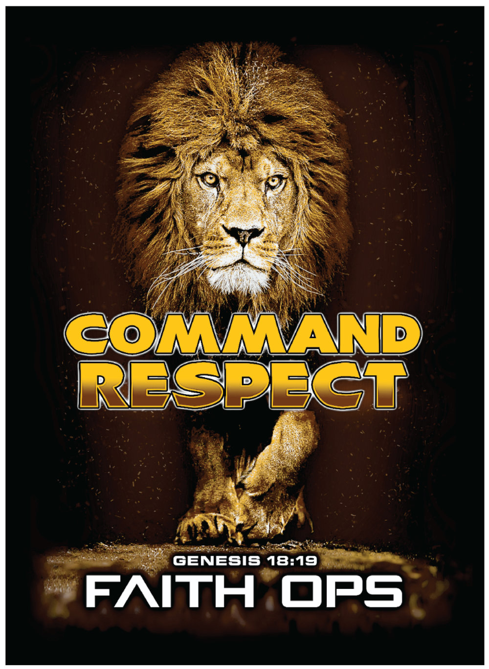 Intense Camp Free T-shirt w/ Registration - Register now for Intense Camp 2019 (March 14-16) by December 16th and receive a free Command Respect T-shirt while supplies last. Click here to register today