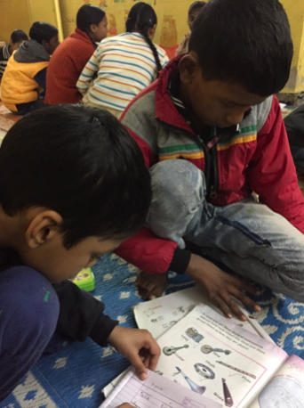 Govindpuri primary boys