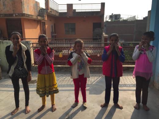 Govindpuri primary girls.