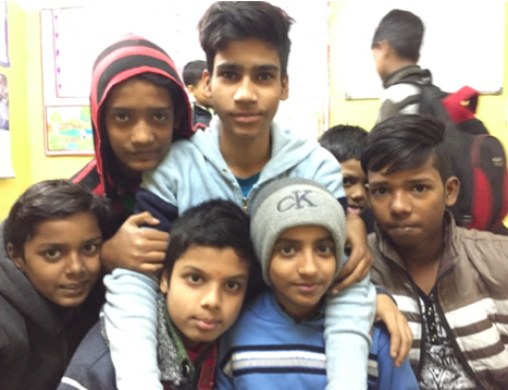 Govindpuri Secondary Boys.