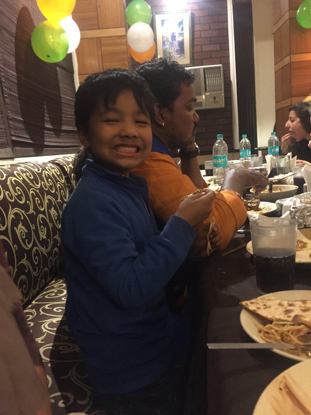 Rani's nephew, Aditiya