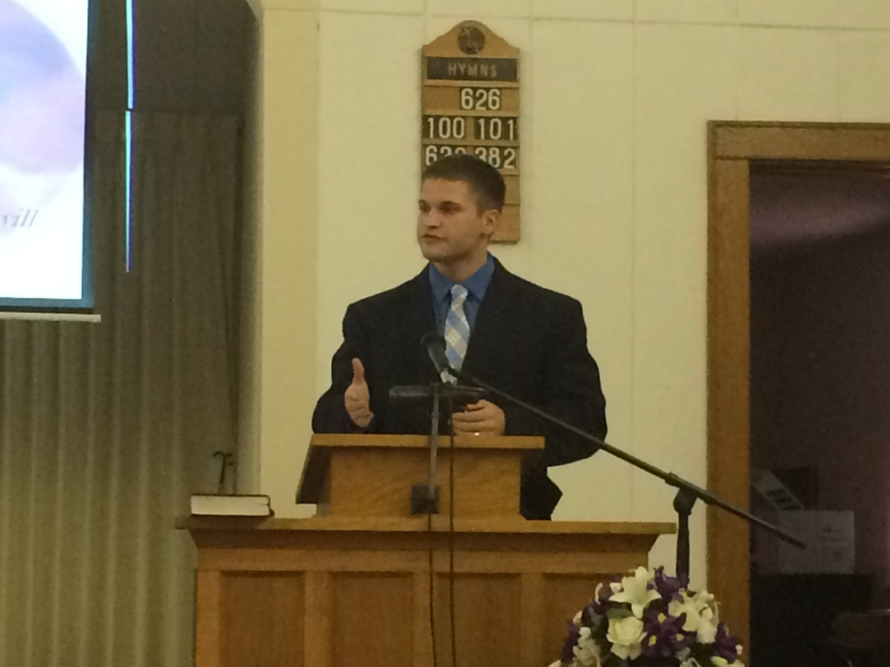 Portage County Outreach - Guest Speaker Jesse - October 2014