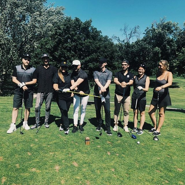 Absolutely perfect day chucking some white dimpled balls around with our #remyfam. We guess you could say we are pretty familiar with deep cabbage now. #slicerighteverytime #eventsing #events #remy #golf