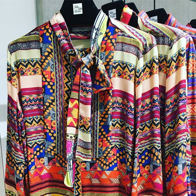 #marrakech is on my #travel #wishlist however if that doesn't pan out, perhaps this gorgeous #etro #blouse may suffice! #spring2017 #fashion #thelaconsultinggroup #whattowear #instorenow @ #saksfifthavenue #sherwaygardens