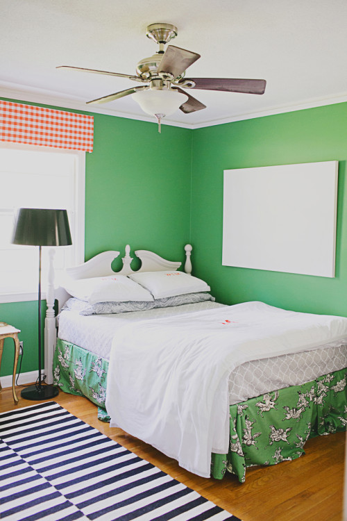 Whitney McGregor's son's room as seen on Design Sponge
