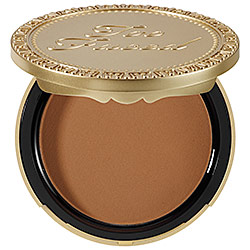 Swipe a little Chocolate Soleil into the crease to contour and give the eyes a lift as well.