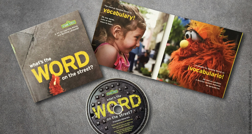 Word on the Street promotional kit (Sesame Street Season 38)