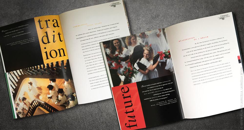 Capital Campaign Brochure (interior)