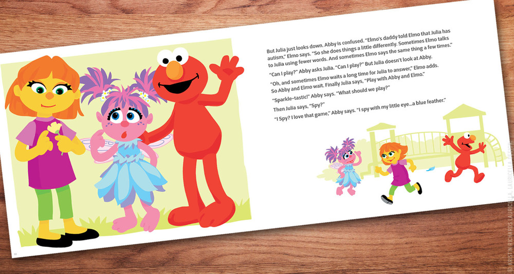 "Sesame Street & Autism ""See Amazing in All Children"" Children's Storybook"