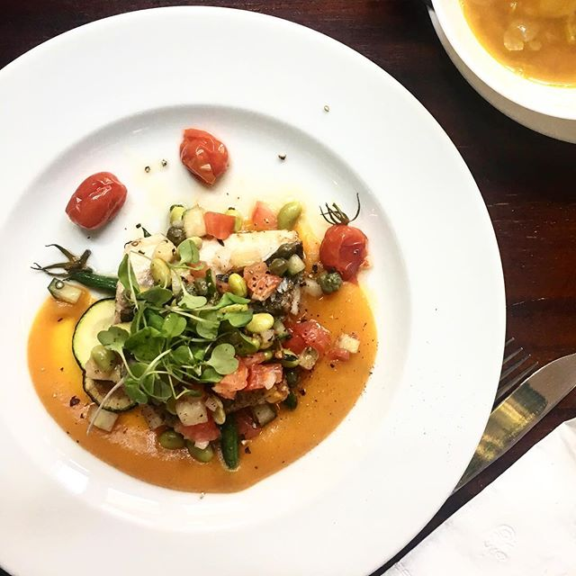 Eat good feel good 🐟 #platdujour #dishoftheday