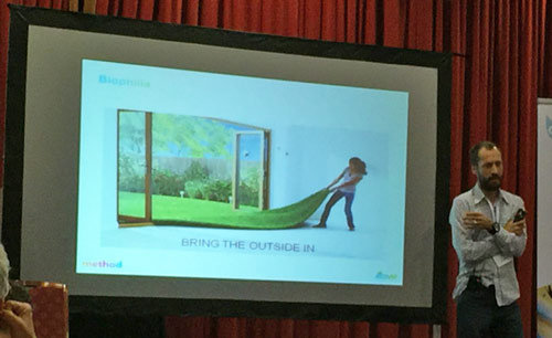 "Tom Domen of Ecover/Method encourages ""Bringing the Outside In""."