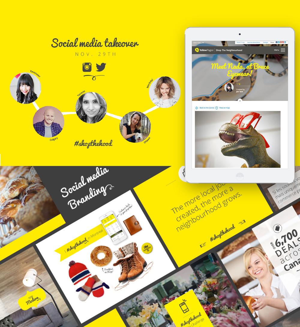 Valtech Canada (w.illi.am/) Art Direction & Design: Anne-Marie Brouillette & Roxana Brongo Strategy:Livia Posteuca Social Media: Patricia Albano Account Director: Vincent Guérin