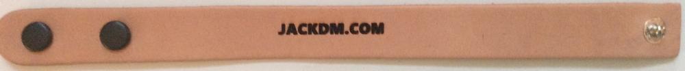 A Jackdm.com Engraved bracelet