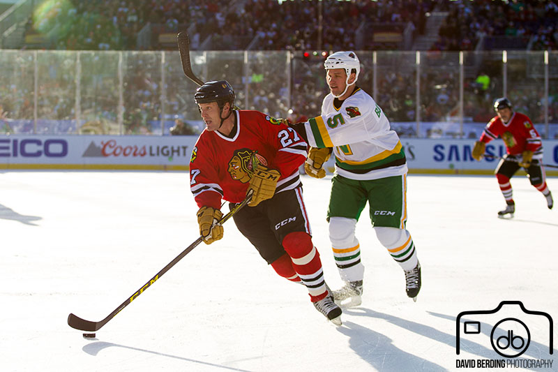 Jeremy Roenick, Chicago Blackhawks Alumni vs. Minnesota North Stars/Wild Alumni
