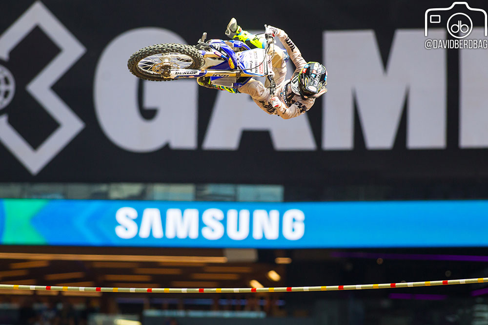 The winning jump
