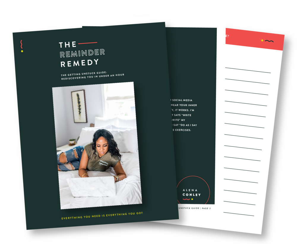 THE GETTING UNSTUCK GUIDE: REDISCOVERING YOUrself IN UNDER AN HOUR - Take an hour to unplug from technology and social media while completing these exercises, so you can hear your inner thoughts clearly….