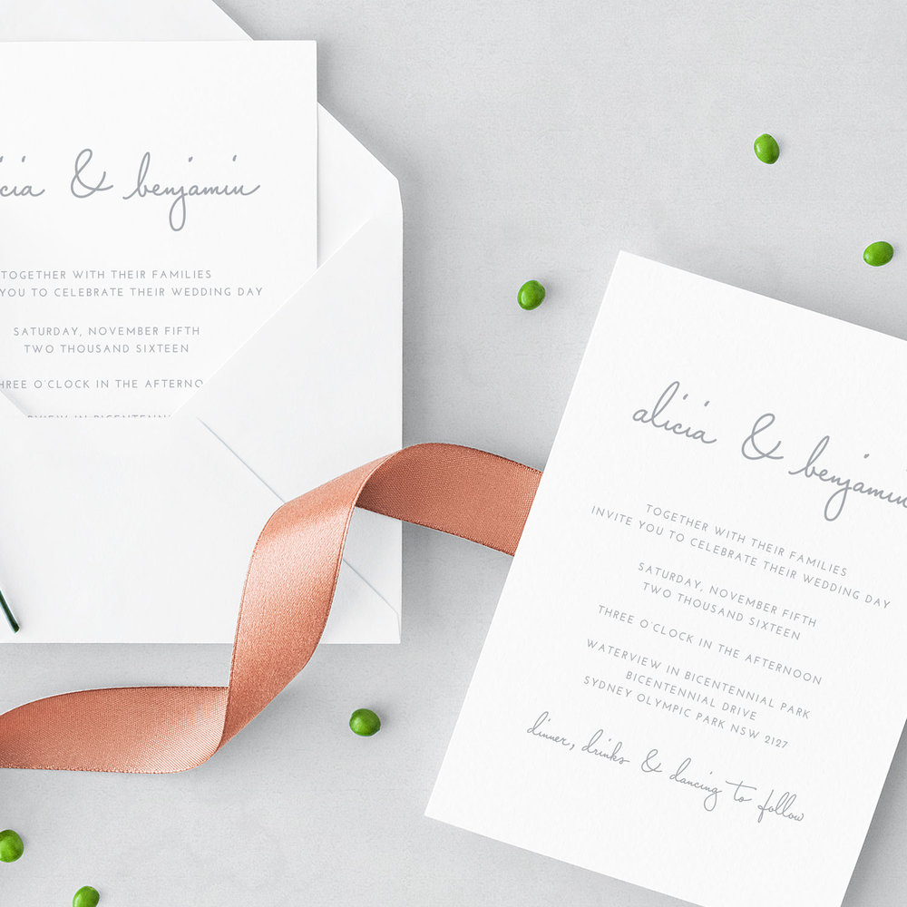 Wedding Stationery — JAKBERN CREATIVE