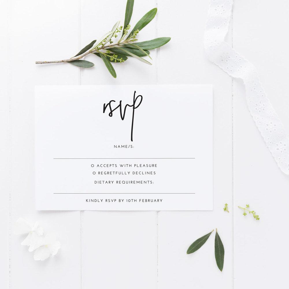 Modern Eliza Wedding Suite