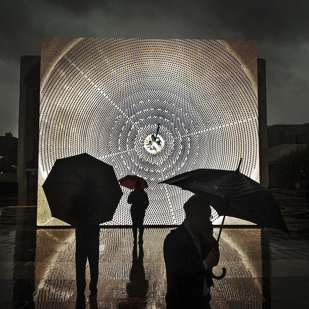 Solar Reserve by John Gerrard, Lincoln Center Plaza, 2014