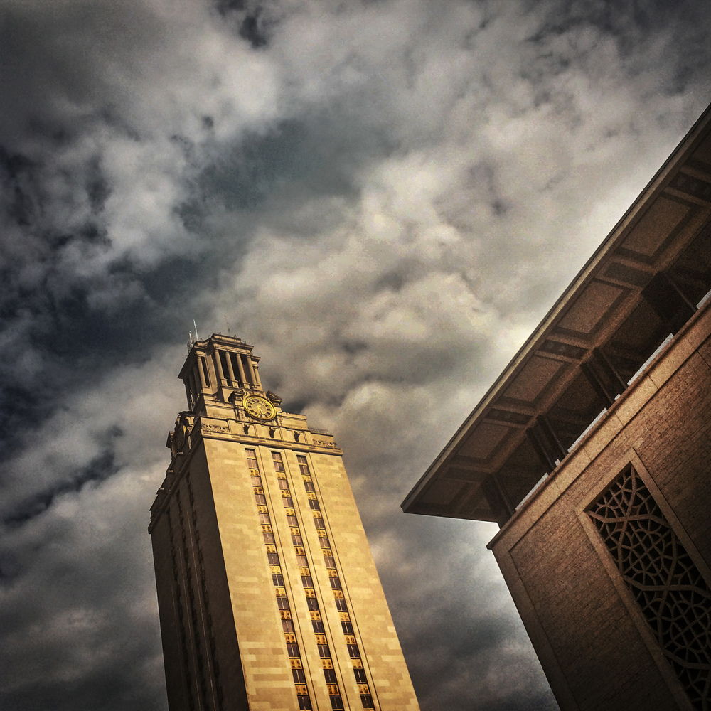 University of Texas Tower, Austin, Texas, 2014