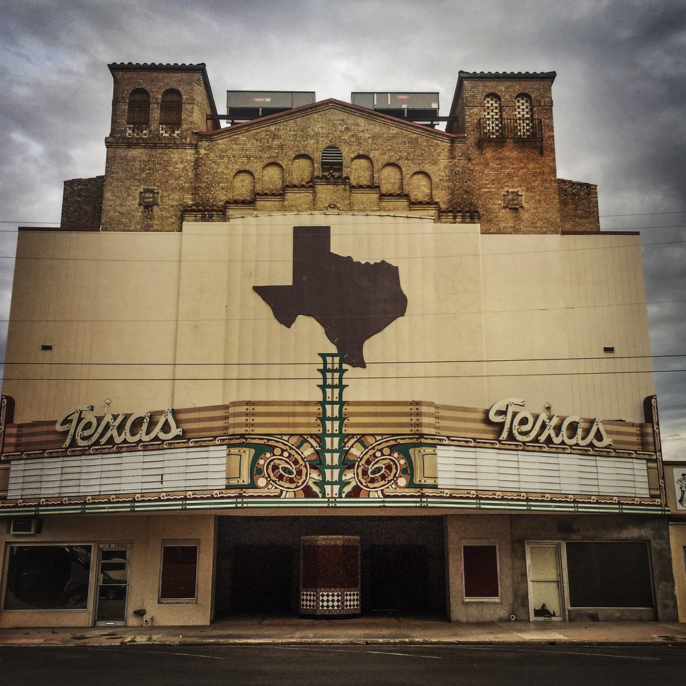 Texas Theater, San Angelo, Texas, 2015