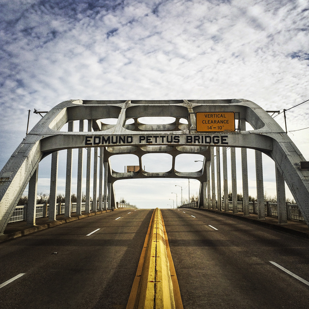 Edmund Pettus Bridge, Selma Alabama, 2015