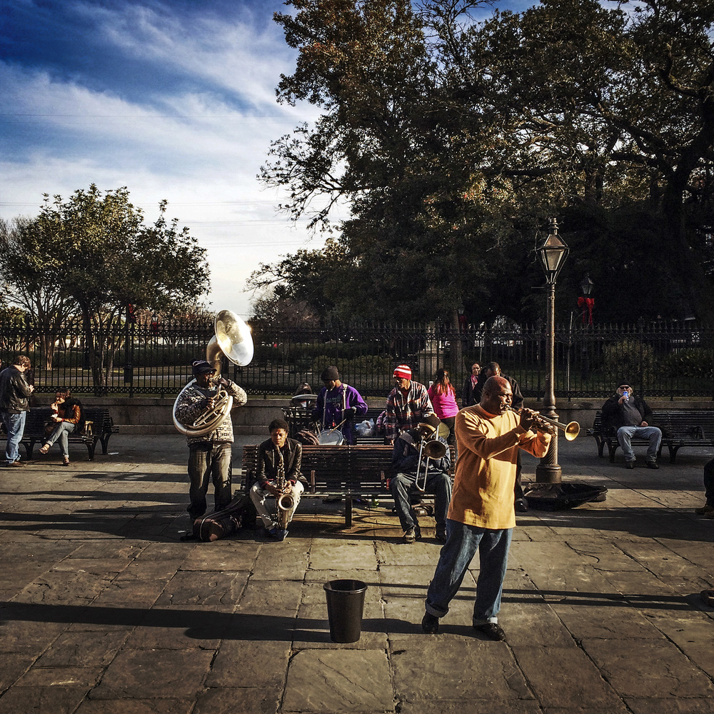 Jackson Square, New Orleans, 2014