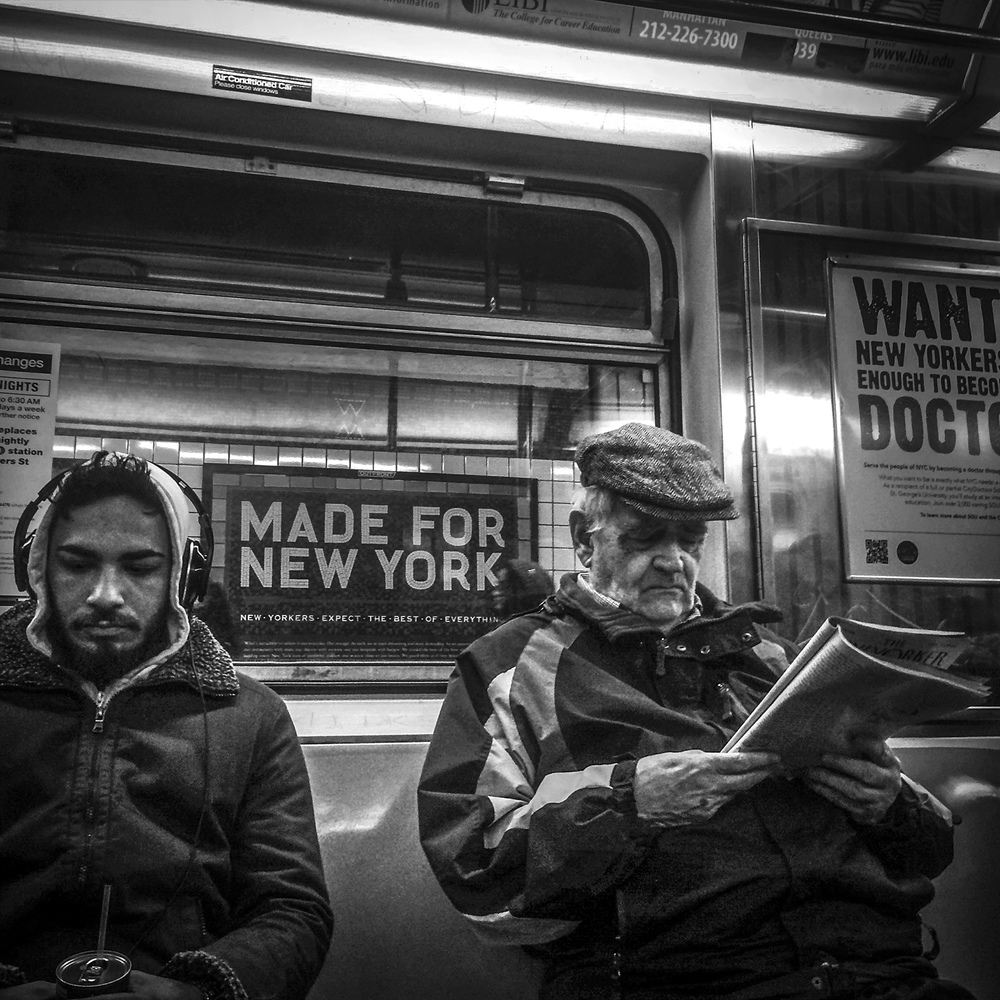 New York Subway, 2015