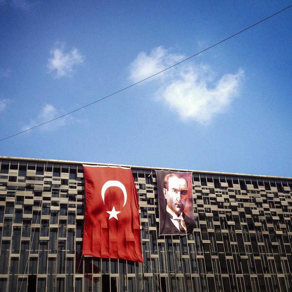 Taksim Square, Istanbul, 2013