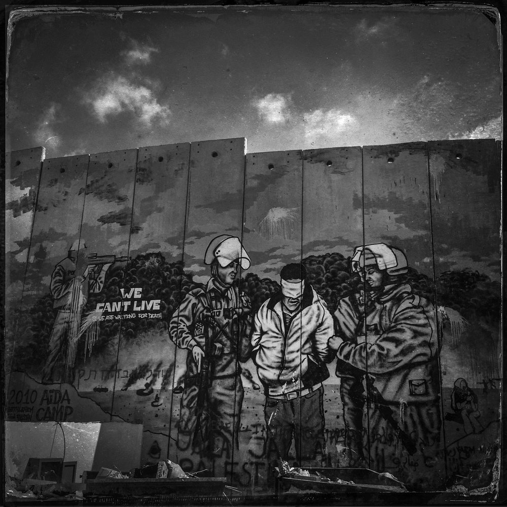 Aida Refugee Camp near Bethlehem, 2013