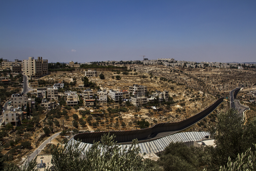 Separation Wall, The West Bank, 2013