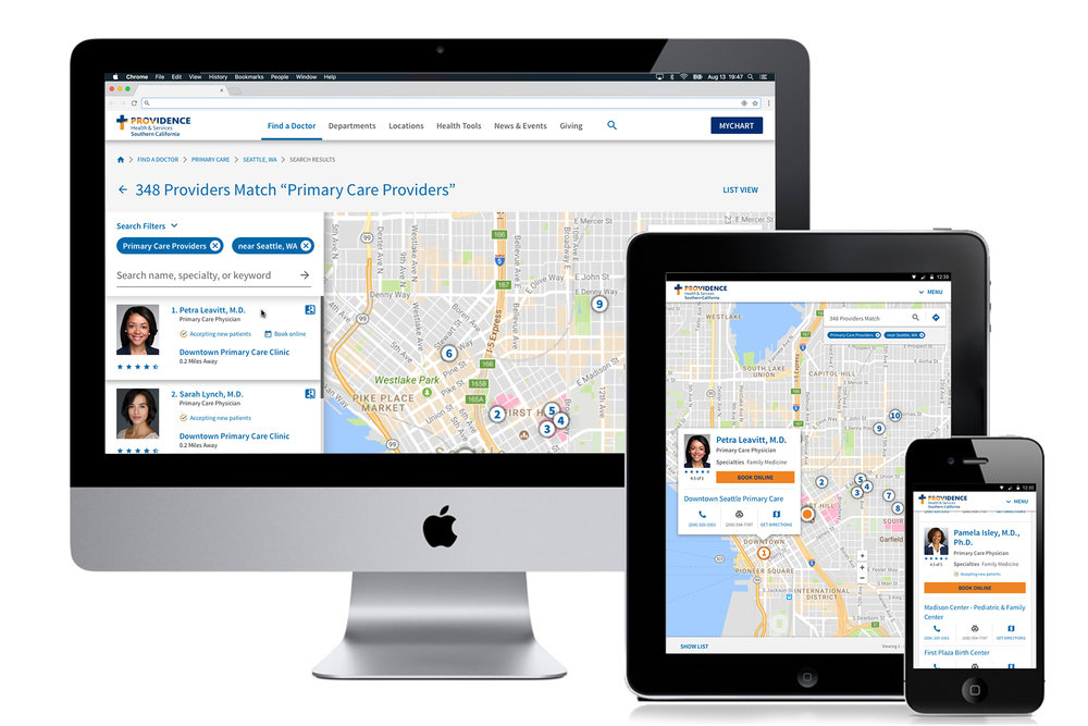 Location Focused Search - The first thing patients want to know when searching for a new provider is