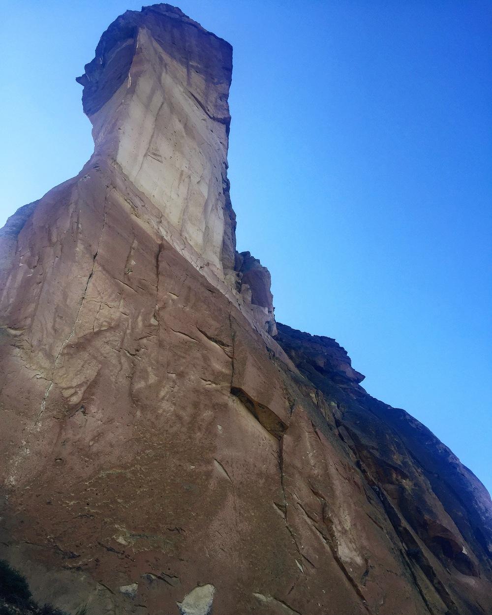 Adam Long climbs W Face of Monkey Face - Brian Houle.JPG