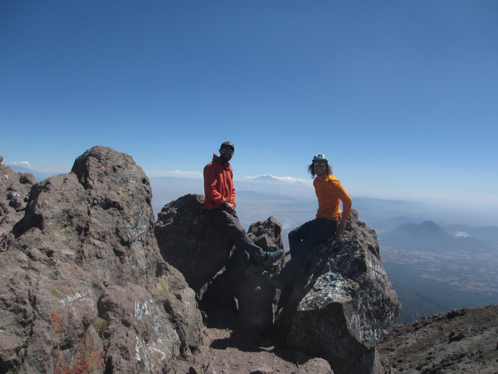 Summit of La Malinche