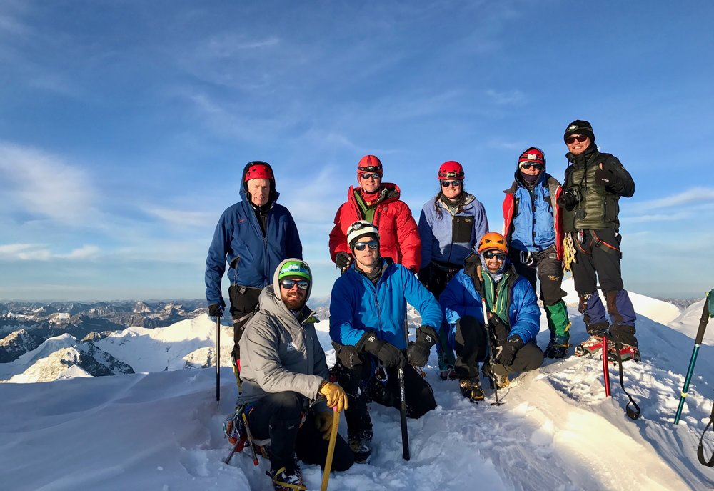 Summit Mount Khuiten