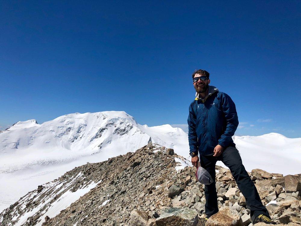 Top of Malchin Peak