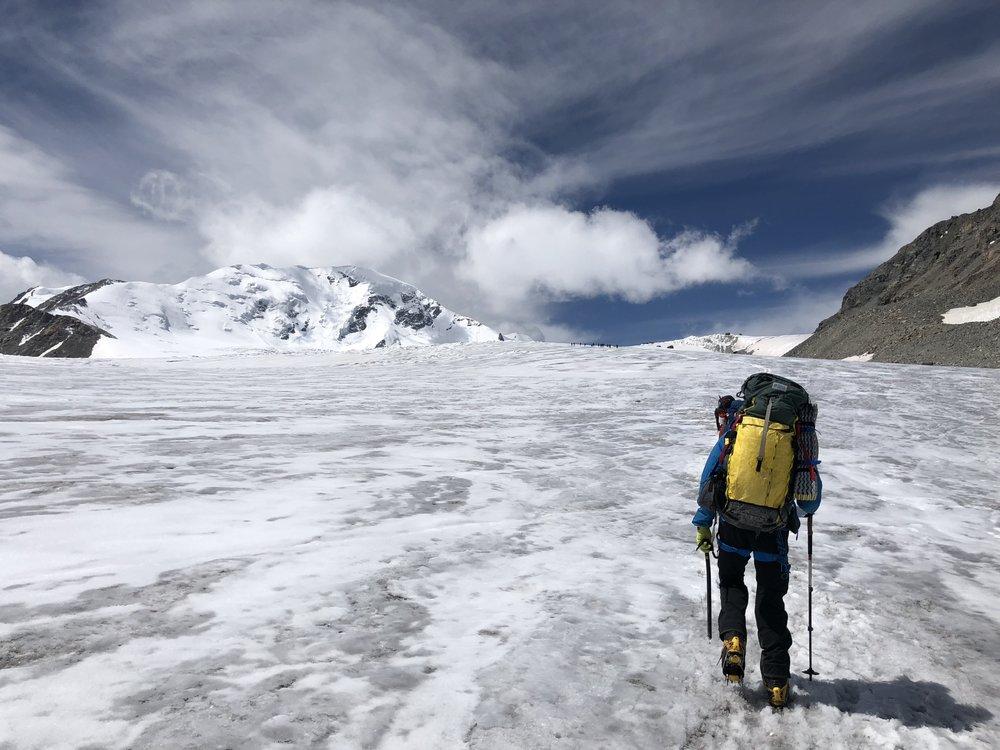 Lower Potanin glacier