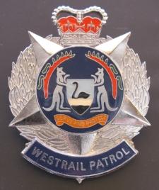 Aust Westrail Patrol (cap badge, 1993 - 1995).jpg