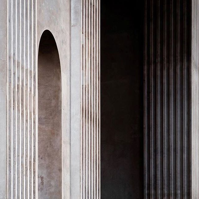 Really digging patterns, lines and depth 〰️ #inspiration