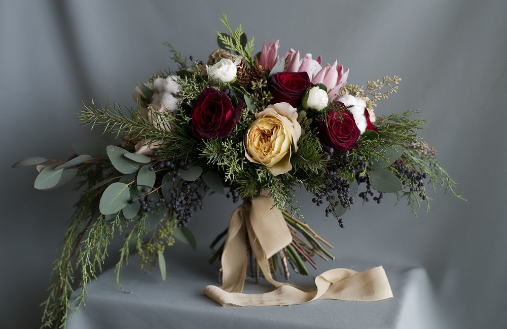 Anna's Bridal Bouquet