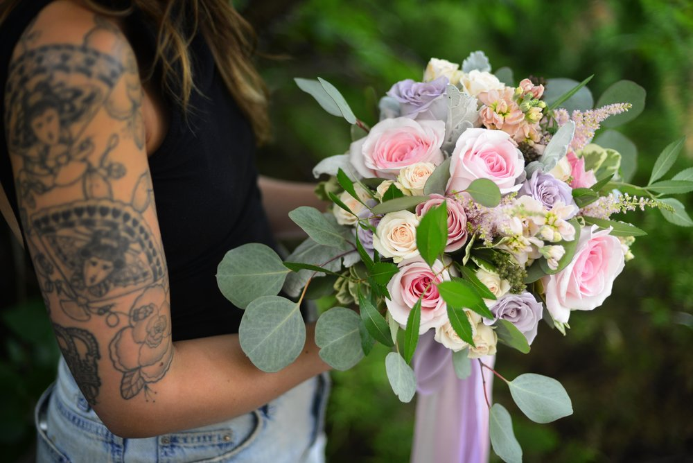 Jessica's Bridal Bouquet