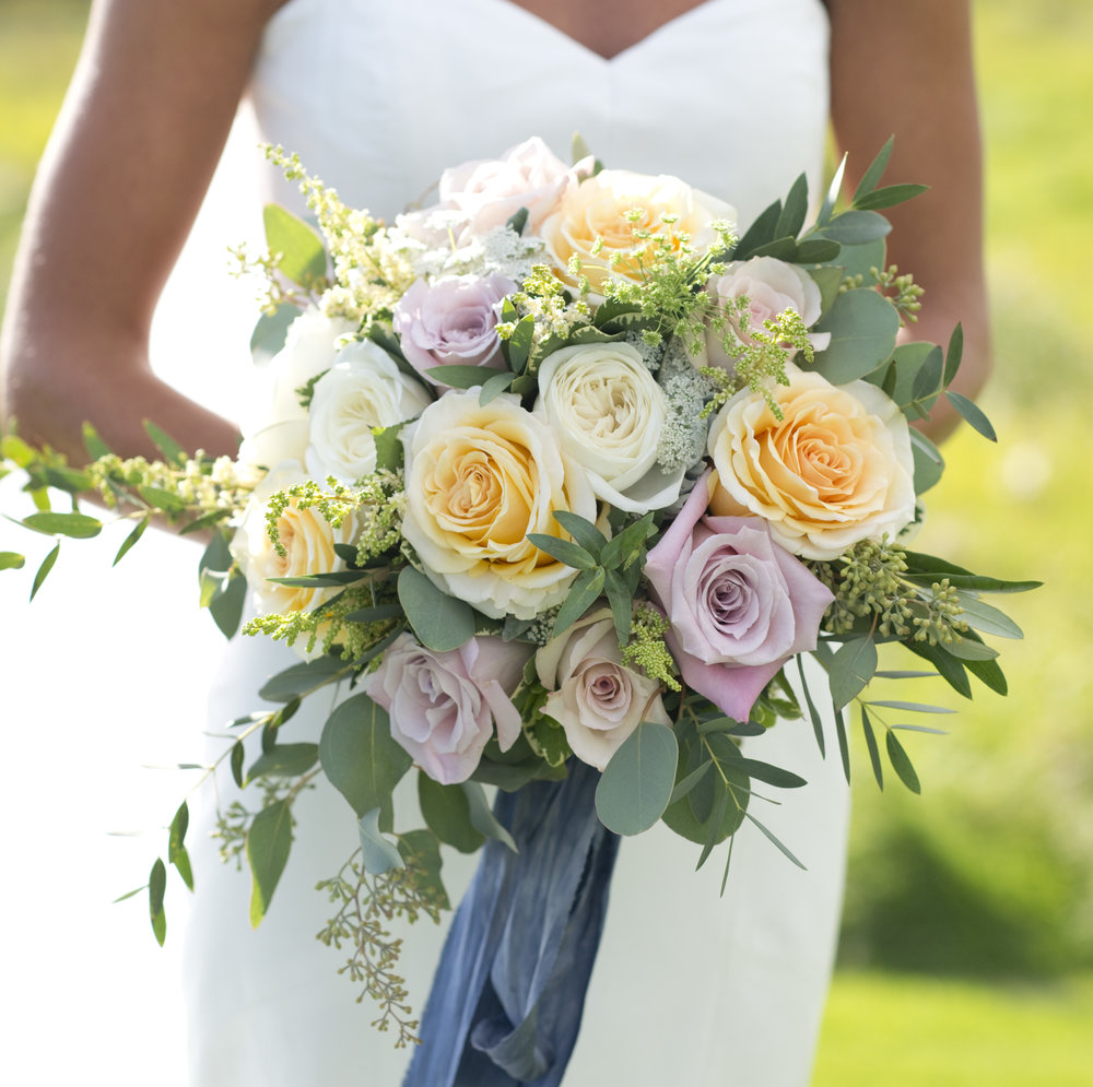 Julia's Bridal Bouquet